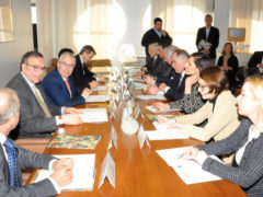 Incontro istituzionale tra la Regione Marche e la Contea Spalatino Dalmata
