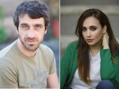 Chiara Francini e Alessandro Federico