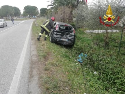 Incidente stradale a Jesi