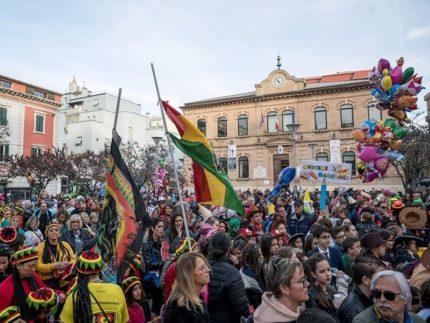 Festeggiamenti a Falconara in occasione del Carnevale 2019