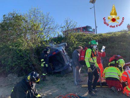 Incidente stradale a Staffolo
