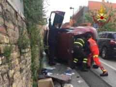 Incidente stradale a Castelfidardo