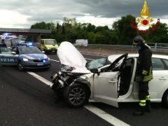 Incidente stradale sull'A14