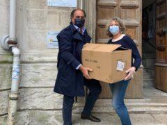 Mascherine donate dalla sezione UCID di Ancona