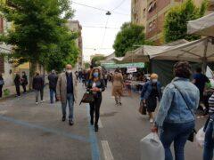 Mercato settimanale a Falconara
