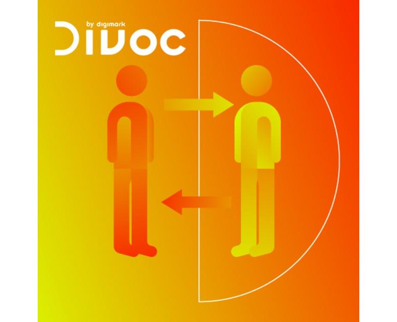 Divoc by Digimark: controllo distanza interpersonale