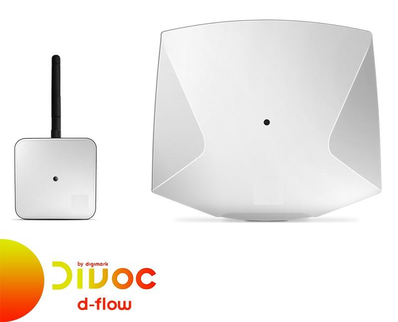 Divoc by Digimark: soluzione D-Flow per controllo distanza interpersonale
