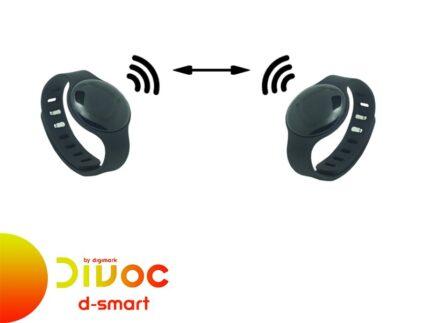 Divoc by Digimark: braccialetti D-Smart per controllo distanza interpersonale