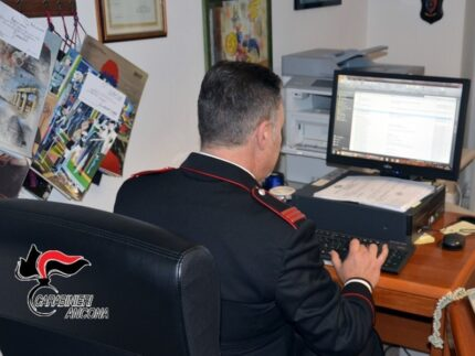 Carabinieri impegnati in contrasto a truffe on-line