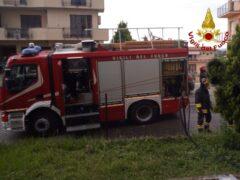 Vigili del Fuoco intervenuti a Osimo