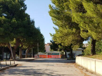 """Lavori presso la scuola """"Aldo Moro"""" di Falconara"""