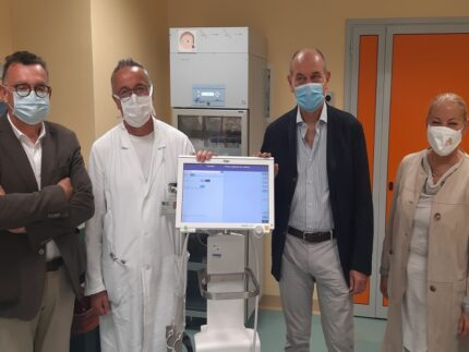 Tomografo polmonare donato all'ospedale di Jesi