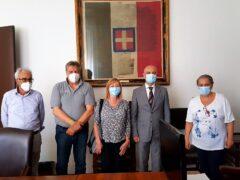 Nuovo comandante dei Vigili del Fuoco ricevuto in Comune ad Ancona
