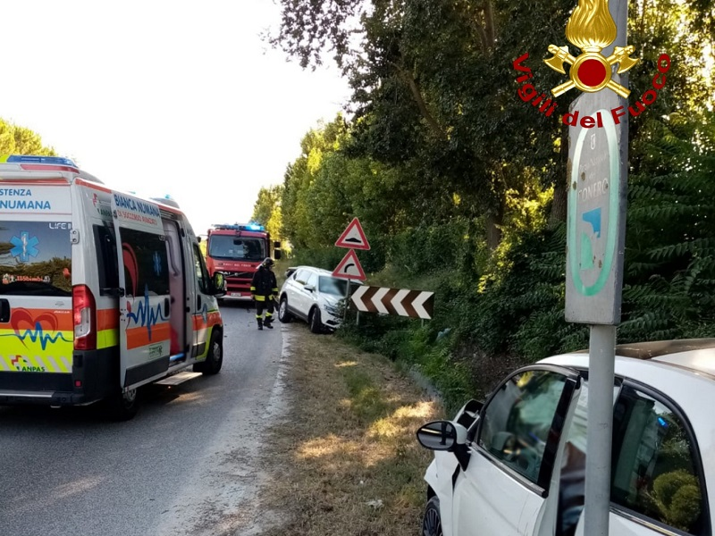 Incidente stradale a Sirolo