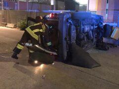 Incidente stradale ad Ancona