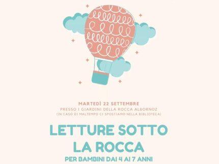 """""""Letture sotto la Rocca"""" a Sassoferrato"""