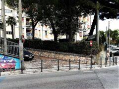 Percorso pedonale realizzato ad Ancona