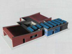 Progetto relativo al nuovo centro Alzheimer previsto a Jesi