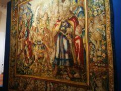 Arazzo restaurato a Fabriano