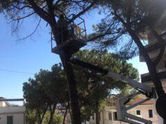 Lavori in via Gobetti a Falconara