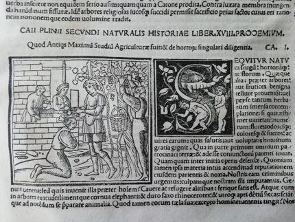 Libro antico conservato dalla Biblioteca Planettiana