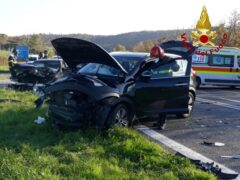 Incidente stradale a Castelfidardo