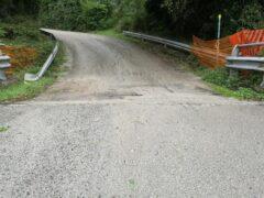 Rampa di accesso di un cavalcavia a Falconara