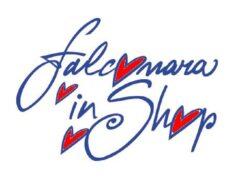 """Logo dell'iniziativa """"Falconara in shop"""""""