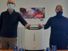 Ventilatori donati dall'Andrea Bocelli Foundation