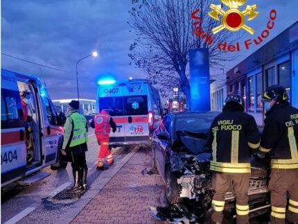 Incidente stradale a Senigallia