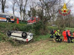 Incidente stradale ad Agugliano
