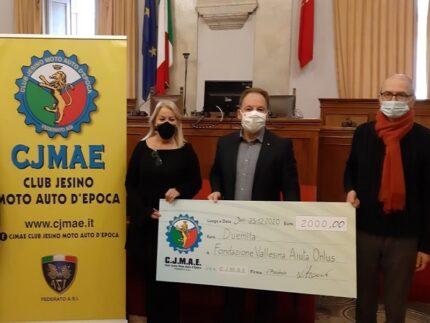 Donazione del Cjmae Club