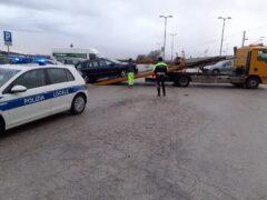 Sequestro di automobili a Falconara