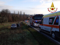Incidente stradale a Cupramontana