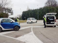 Controlli anti-covid della Polizia Locale