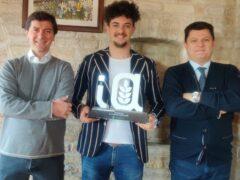 Premio per l'azienda Agricolt Brandoni di Castelfidardo