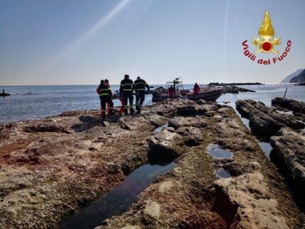 Persona soccorsa ad Ancona