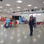 Centro vaccinale a Falconara
