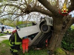 Incidente stradale a Cupramontana