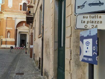 Wifi nel centro di Jesi