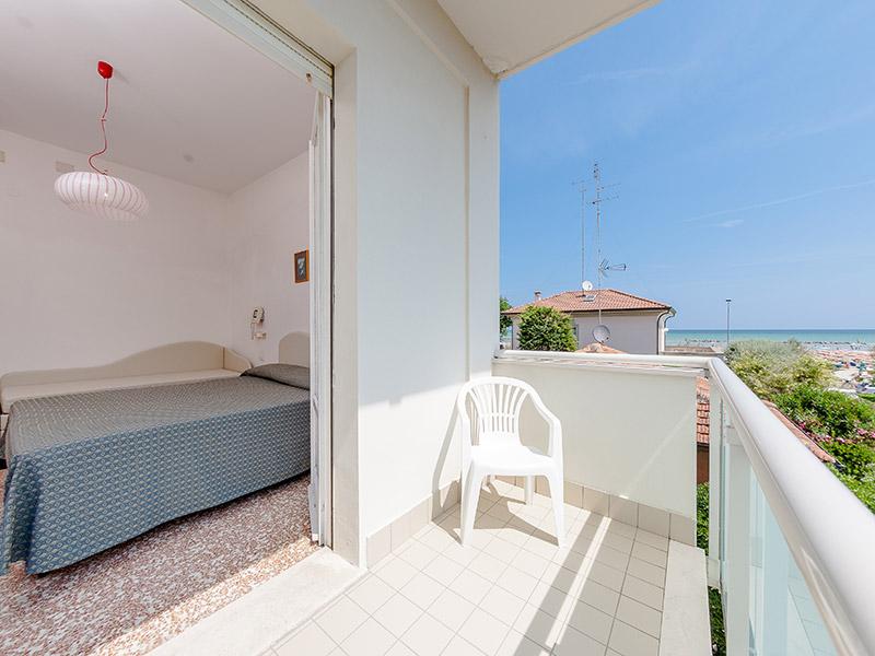 Hotel Corallo Senigallia - camera vista mare