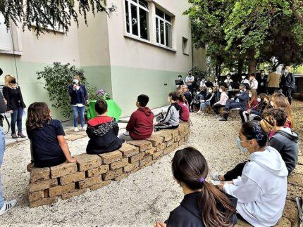 Inaugurazione dell'aula Greenlab presso l'istituto Donatello di Ancona