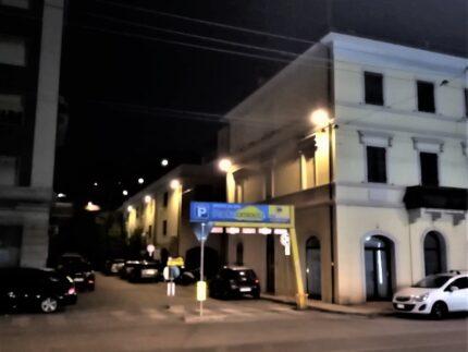 Nuove luci in via Rossi ad Ancona