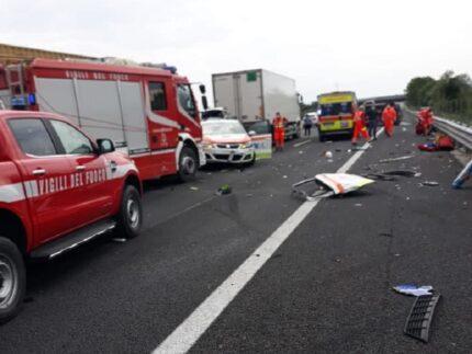 Incidente sull'A-14 tra Ancona sud e Loreto