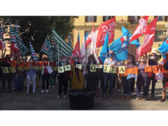 Manifestazione precari della scuola