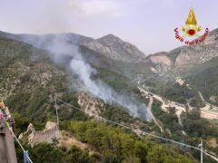 Incendio a Genga