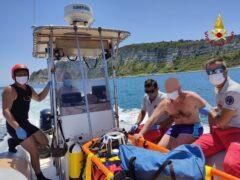 Soccorsi sul litorale di Ancona