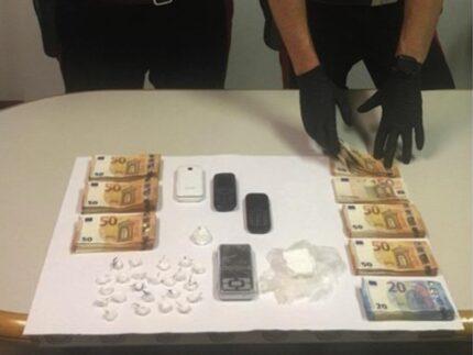 Arresto spacciatore a Montemarciano