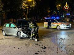 Incidente stradale a Jesi
