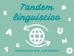 "Iniziativa ""Tandem linguistico"" ad Ancona"